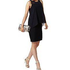 Dorothy Perkins - Luxe navy sleeveless mesh dress