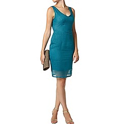 Dorothy Perkins - Luxe turquoise organza dress