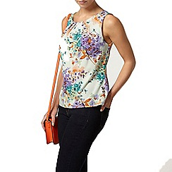 Dorothy Perkins - Billie and blossom petites floral print shell top