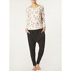 Dorothy Perkins - Dp lounge multi floral sweatshirt