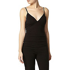 Dorothy Perkins - Dp lounge black perfect camisole top