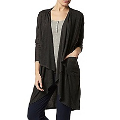 Dorothy Perkins - Dp lounge charcoal waterfall cardigan