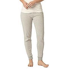 Dorothy Perkins - Dp lounge grey stripe relax pant