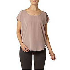 Dorothy Perkins - Luxe dusty pink batwing top