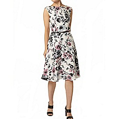 Dorothy Perkins - Luxe: multi-coloured floral fit and flare dress