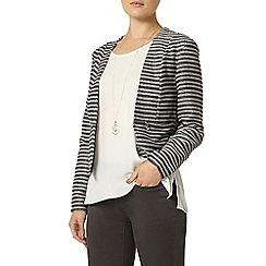 Dorothy Perkins - Luxe: black stripe boucle jacket