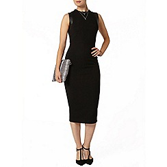 Dorothy Perkins - Luxe black bodycon dress
