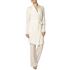 Dorothy Perkins - Dp lounge cream longline cardigan