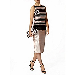 Dorothy Perkins - Luxe pink stripe organza shell top