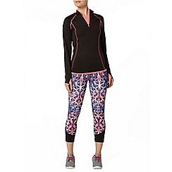 Dorothy Perkins - Active: long sleeve black performance top