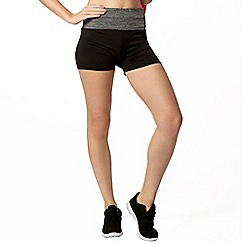 Dorothy Perkins - Active: space dye waist band spinning short