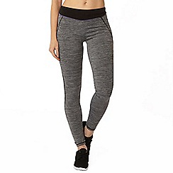 Dorothy Perkins - Active: black and grey urban leggings