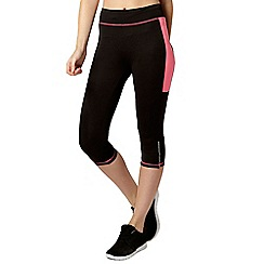Dorothy Perkins - Active: pink high impact crop leggings