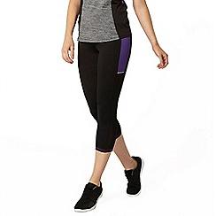 Dorothy Perkins - Active: purple high impact crop leggings