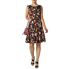 Dorothy Perkins - Billie and blossom dark floral lace dress