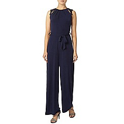 Dorothy Perkins - Billie black label navy beaded jumpsuit