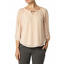 Dorothy Perkins - Billie and blossom: nude trim blouse