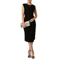 Dorothy Perkins - Luxe black manipulated dress