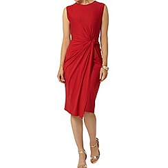 Dorothy Perkins - Luxe: red manipulated dress