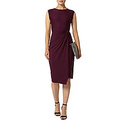 Dorothy Perkins - Luxe grape manipulated dress