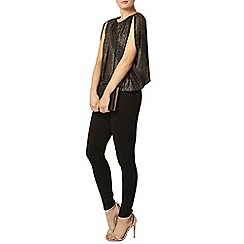 Dorothy Perkins - Billie and blossom gold batwing blouse