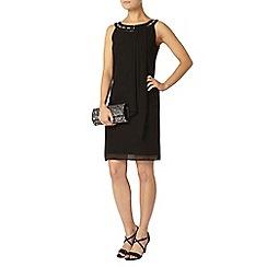 Dorothy Perkins - Billie black label black embellished trapeze dress