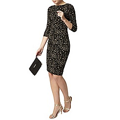 Dorothy Perkins - Leopard print midi dress