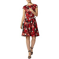 Dorothy Perkins - Billie and blossom red floral dress