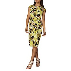 Dorothy Perkins - Lily and Franc lime floral orchid dress