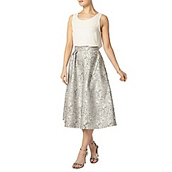 Dorothy Perkins - Luxe silver prom skirt