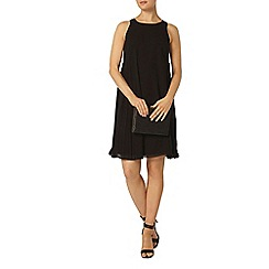 Dorothy Perkins - Luxe: black dress, with side pleat detailing