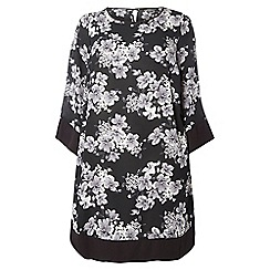 Dorothy Perkins - Billie and blossom curve floral kimono dress