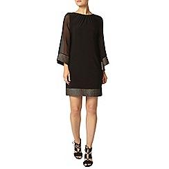 Dorothy Perkins - Billie black label black kimono sleeve dress