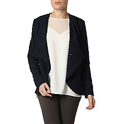Dorothy Perkins - Billie and blossom navy waterfall sequin cardigan