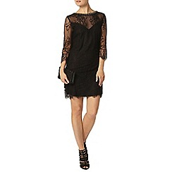 Dorothy Perkins - Showcase black lace bodycon dress