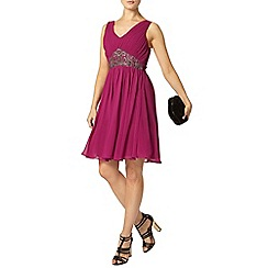 Dorothy Perkins - Showcase magenta prom dress