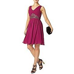Dorothy Perkins - Showcase magenta prom dress