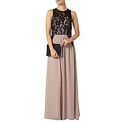 Dorothy Perkins - Showcase mink embellished maxi dress