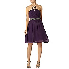 Dorothy Perkins - Showcase purple bandeau dress