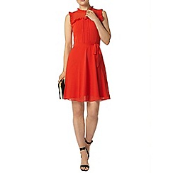Dorothy Perkins - Billie and blossom orange victoriana dress