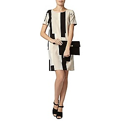 Dorothy Perkins - Natural colourblock shift dress