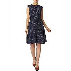 Dorothy Perkins - Billie and blossom: navy feather print dress