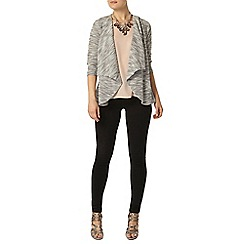 Dorothy Perkins - Billie and blossom grey waterfall cardigan