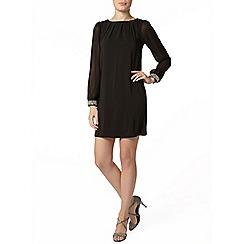 Dorothy Perkins - Black gem trim dress