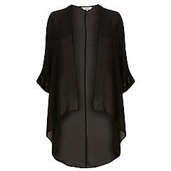 Dorothy Perkins - Billie curve black sequin kimono