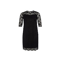 Dorothy Perkins - Billie curve black lace sweetheart dress