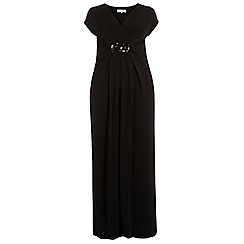 Dorothy Perkins - Billie curve black embellished maxi dress