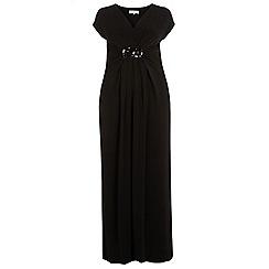 Dorothy Perkins - Billie curve black embellished maxi dress