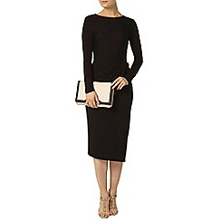 Dorothy Perkins - Billie and blossom black manipulated dress