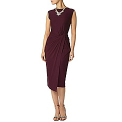 Dorothy Perkins - Grape manipulated dress